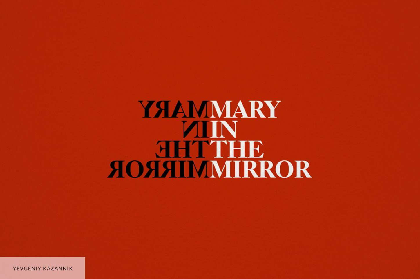 Mary in the Mirror